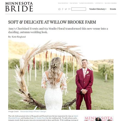 Minnesota Bride - Featured
